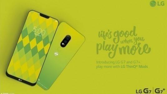 LG G7 ve G7+ tanıtım posteri sızdırıldı