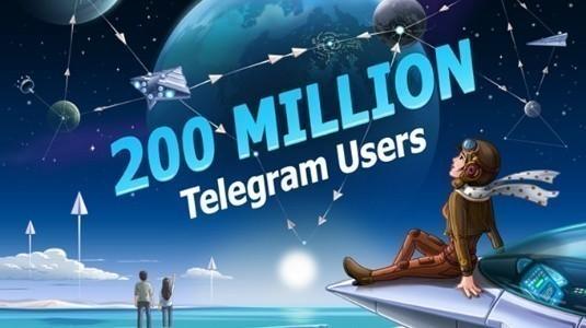 Telegram, Aylık Aktif 200 Milyon Kullanıcıya Ulaştığını Duyurdu