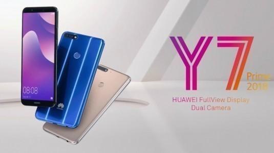Huawei Y7 Prime (2018) resmi olarak tanıtıldı