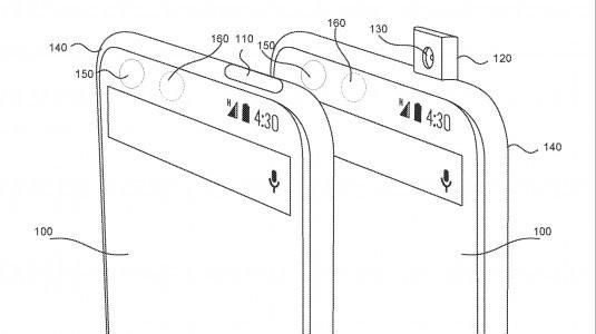 Essential tamamen çerçevesiz ekranı tasarımı patentledi