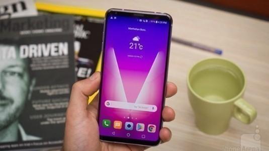 LG V35 ThinQ Geliyor