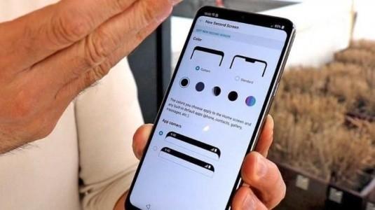 LG G7 ThinQ'nun Yeni İkinci Ekran Menüsü Sızdırıldı