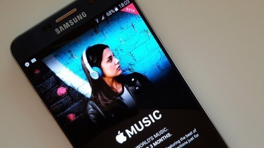 Apple Music, Android için güncellendi