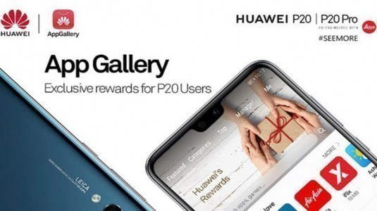 Huawei uygulama mağazasını global pazara sunuyor