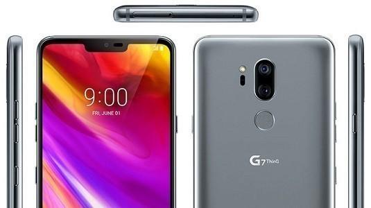 LG G7 ThinQ Modeli Çentikli Ekranıyla Tekrar Ortaya Çıktı