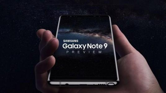 Galaxy Note 9'a ait olduğu iddia edilen görüntüler