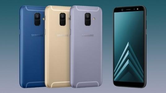 Samsung Galaxy A6 Serisi, Lansman Öncesinde bir Güncelleme Aldı