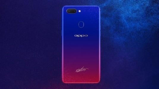 Oppo R15 Nebula Special Edition resmi olarak tanıtıldı