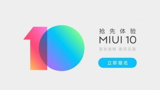 MIUI 10 Kapalı Beta Kayıtları Başladı