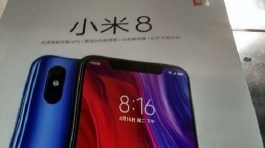 Xiaomi Mi 8'in Kutusu ve Bazı Özellikleri Sızdırıldı