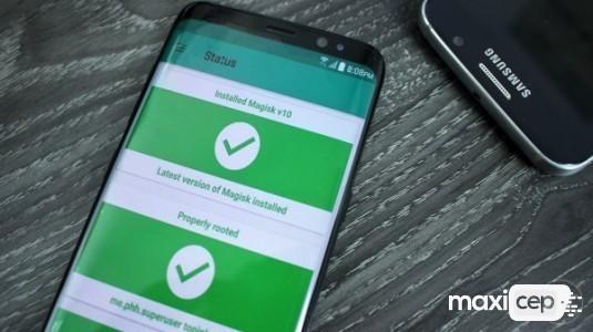 Samsung Galaxy S8'ler nasıl root edilir?