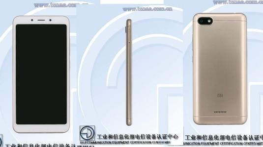 Xiaomi Redmi 6A TENAA'da Özellikleri ile Birlikte Listelendi