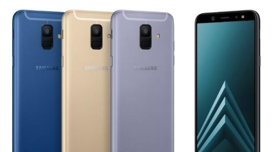 Samsung Galaxy A6 ve A6+ Türkiye'de Satışa Sunuldu