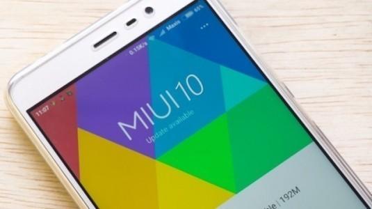 MIUI 10 resmi olarak tanıtıldı