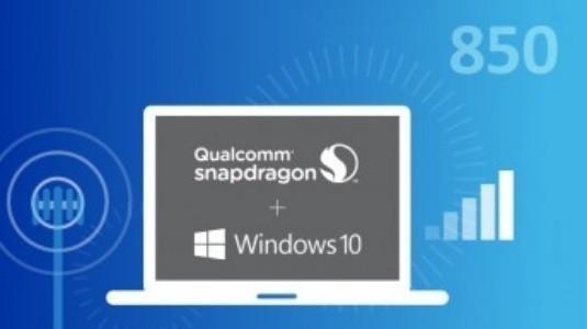 Qualcomm, Windows bilgisayarlar için Snapdragon 850 yonga seti üzerinde çalışıyor