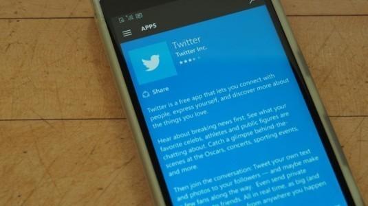 Twitter, Windows Phone 8.1'e olan desteğini kesti