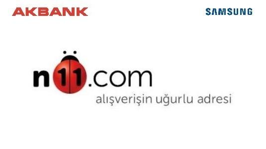 N11 ve Akbank İşbirliği Sayesinde Samsung Telefonlara 12 Taksitle Sahip Olabilirsiniz