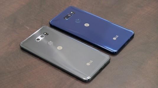 LG V40 Arka Tarafta 3 Ön Tarafta 2 Kameraya Sahip Olacak