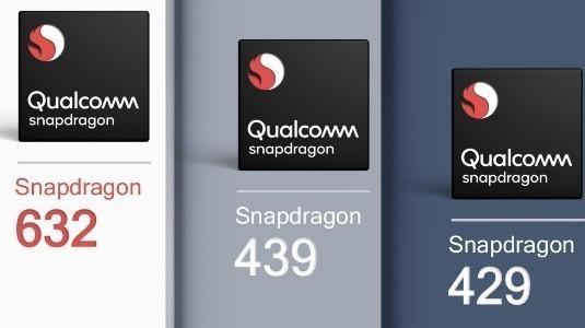 Qualcomm, Snapdragon 632, 439 ve Snapdragon 429 Yonga Setlerini Duyurdu