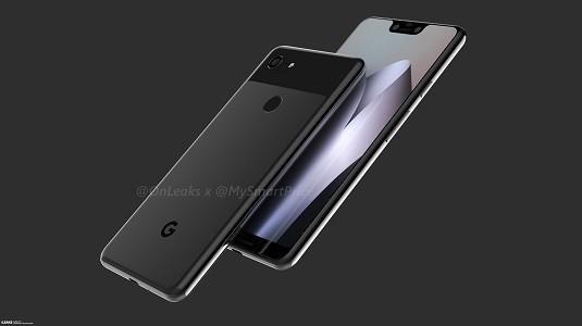 Google Pixel 3 ve Pixel 3 XL Render Görüntüleri Paylaşıldı