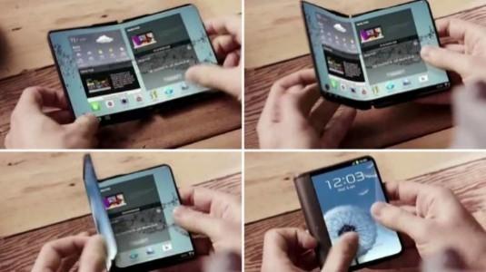 Samsung, Katlanabilir OLED Paneli Üretimine Başlıyor