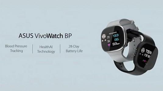 Asus yeni akıllı saati VivoWatch BP'yi tanıttı