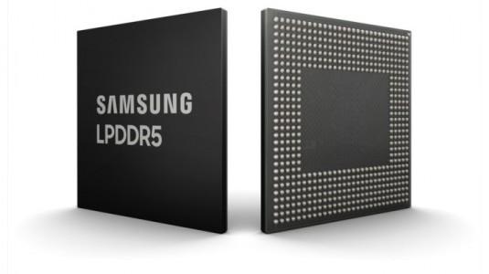 Samsung, Yeni Nesil Telefonlar için 8 gigabit LPDDR5 RAM Yongası Piyasaya Sundu