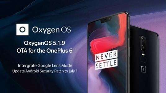 OxygenOS 5.1.9 Güncellemesi OnePlus 6 İçin Dağıtılmaya Başladı