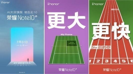 Honor Note 10, 6.95 inç Ekran ve 4.900 mAh Batarya ile TENAA Sertifikası Aldı