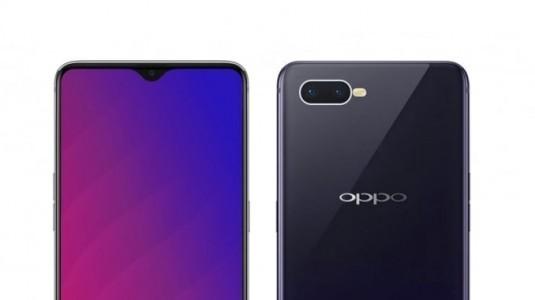 OPPO F9'un resmi posterleri, çift kamera ve parmak izi okuyucusunu doğruladı