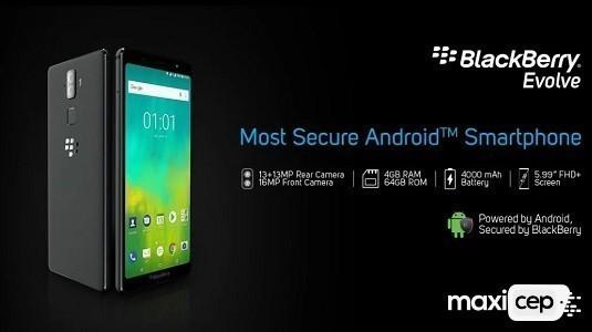 Çerçevesiz Ekranlı Blackberry Evolve ve Blackberry Evolve X Tanıtıldı