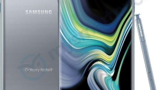 Gümüş Renkli Samsung Galaxy Note9 ABD Dışına Adım Atıyor