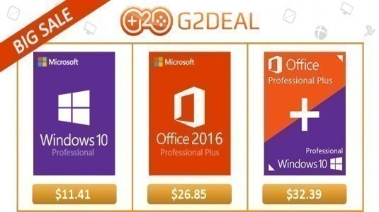 %85 indirim! Windows 10 Pro 12$ ve Office 2016 ise 28$