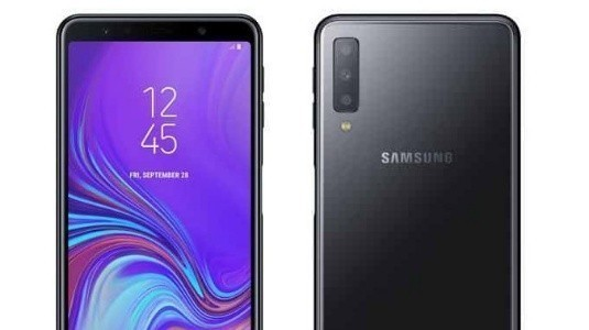 Üç Kameralı Galaxy A7 (2018) Basın Görselleri Sızdırıldı