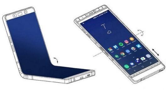 Samsung'un Katlanabilir Telefonu Kasım Ayında Geliyor