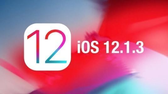 Apple, IOS 12.1.3 Güncellemesi İPhone ve iPad Modelleri için Yayınlandı