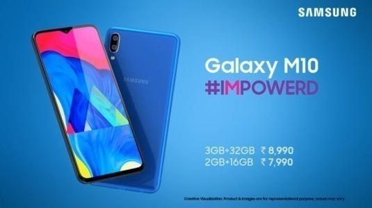 Samsung Galaxy M10 ve Galaxy M20, Infinity-V Ekranla Resmiyet Kazandı