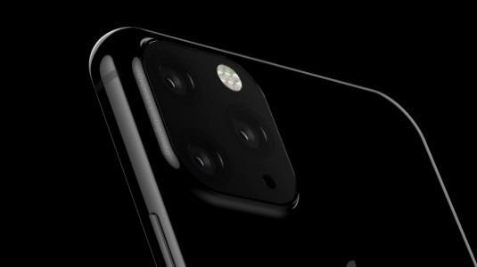 2019 İPhone'u Üçlü Kamera ile Gösteren Bir Görsel Sızdırıldı