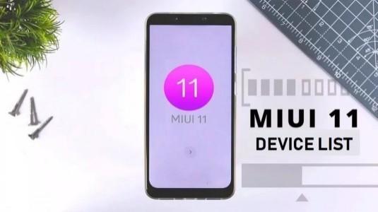 İşte MIUI 11 Alacak Cihazların Tam Listesi