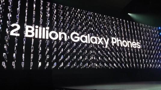 Samsung, Dokuz Yılda 2 Milyar Galaxy Telefon Sattı
