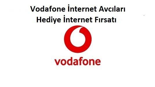 Vodafone İnternet Avcıları Bedava İnternet Detayları