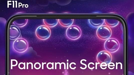Oppo F11 Pro %90 Ekran Kasa Oranıyla Beraber Geliyor