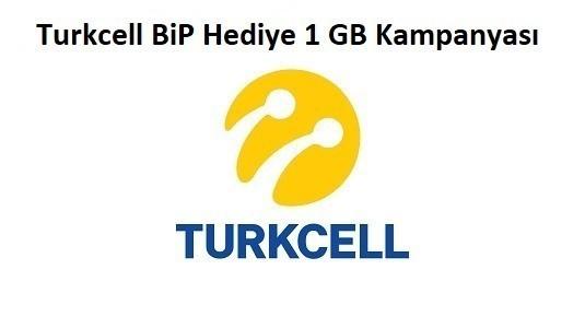 Turkcell BiP Ücretsiz 1 GB İnternet Fırsatı