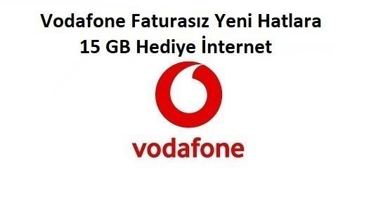 Vodafone Yeni Müşterilere 15 GB Bedava İnternet Fırsatı