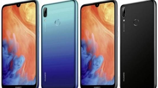 Huawei Y7 2019 Çerçevesiz Tasarımıyla Dikkat Çekiyor