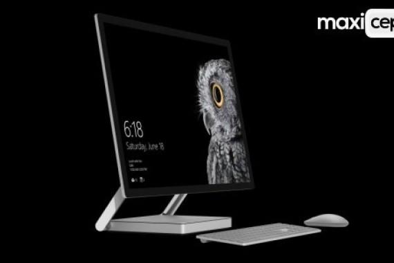 Microsoft'un ilk Hepsi Birarada Bilgisayarı Surface Studio Tanıtıldı