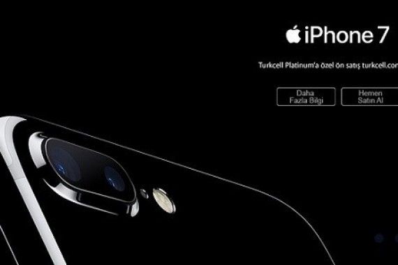 Turkcell iPhone 7 ve iPhone  7 Plus'ı ön satışa sundu
