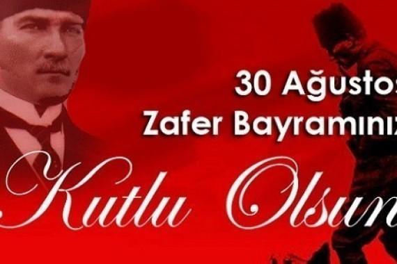 30 Ağustos Zafer Bayramınızı kutlarız
