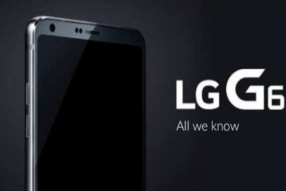 LG G6'nın Siyah Rengi, Resmi Basın Görseli ile Sızdırıldı
