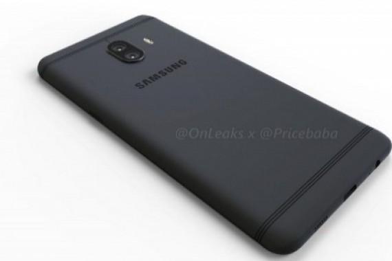 Samsung Galaxy C10'un Görselleri, Dual Kamerayı Gözler Önüne Seriyor